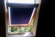 roletta tetősík ablakon