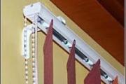 szalagfüggöny falsíkon