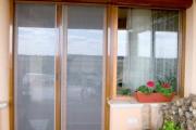 oldalhúzós szúnyogháló ajtó dupla tokos